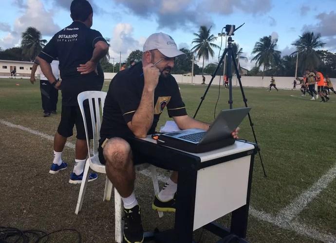 Carlos Gamarra, Botafogo-PB (Foto: Divulgação / Botafogo-PB)