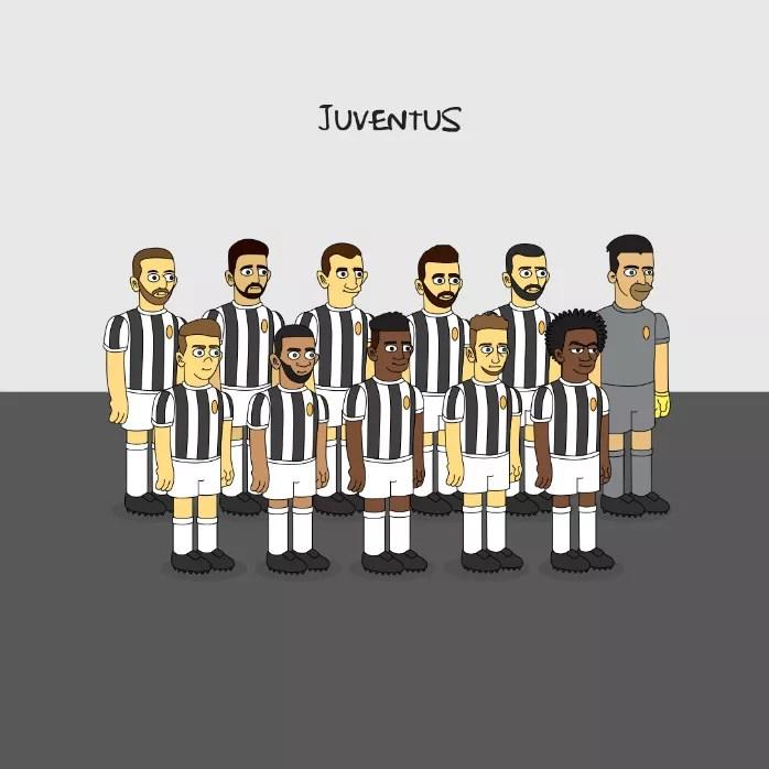 Juventus Simpsons