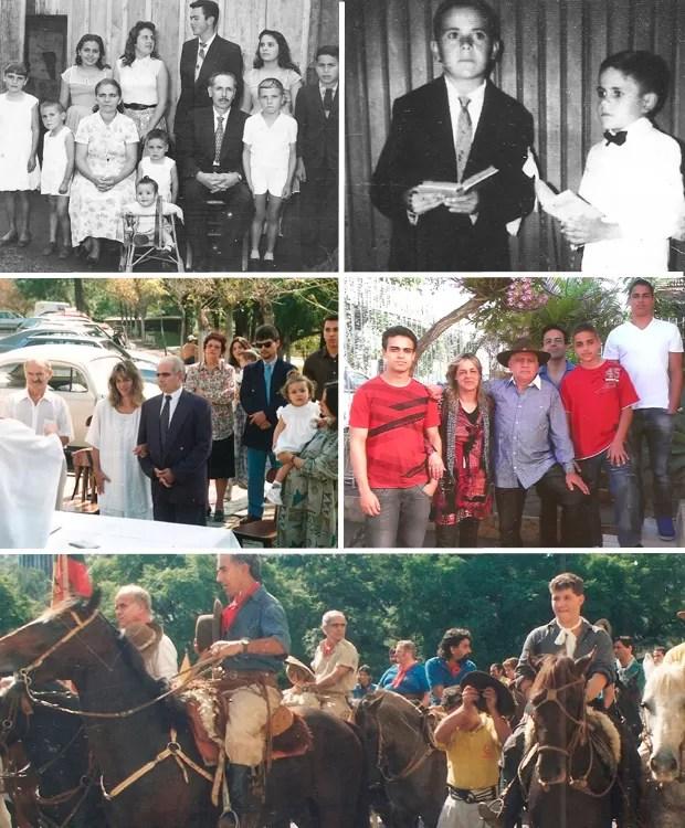 Montagem de fotos dos candidatos a governador do Rio Grande do Sul - Estivalete (Foto: Arquivo Pessoal)