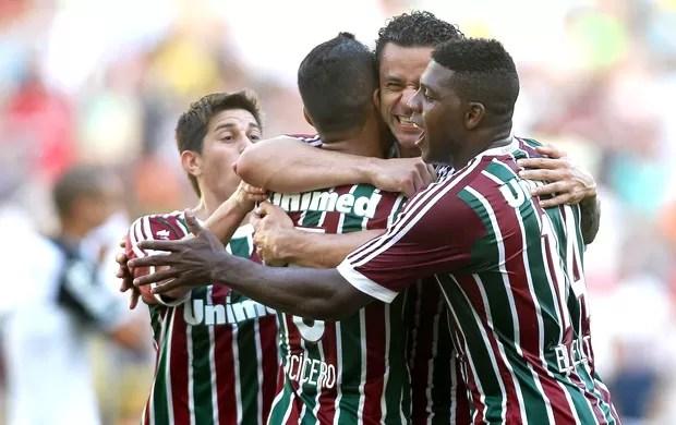 Fred comemora gol Fluminense x Sport (Foto: Matheus Andrade / Photocamera)