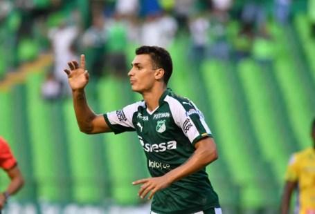 Juan Dinenno, do Deportivo Cali, está na mira do São Paulo — Foto: Reprodução/Deportivo Cali