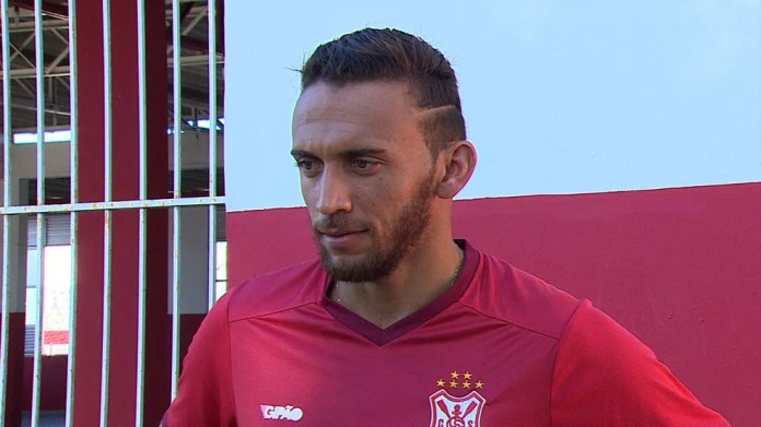 Júnior Batata está de volta ao Sergipe — Foto: Reprodução/TV Sergipe