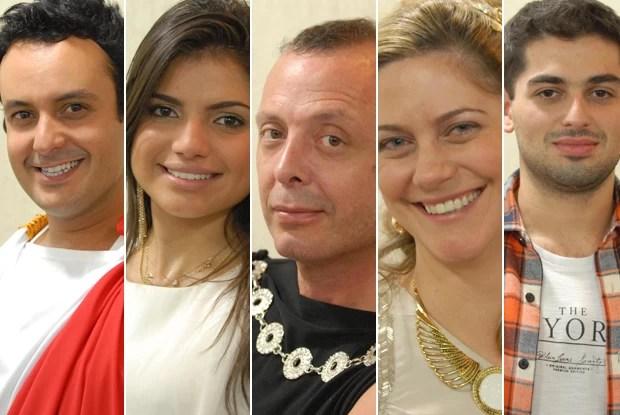 Participantes do Jogo de Panelas VI (Foto: Mais Você / TV Globo)