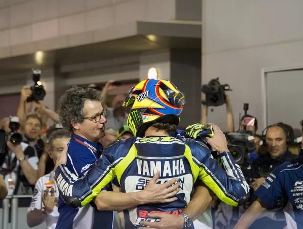 165992729 - Rivais se rendem a talento de Rossi em retorno à Yamaha: 'Fantástico'