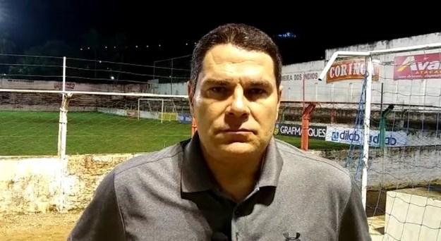 Léo Goiano, técnico do ASA — Foto: Reprodução/ASA