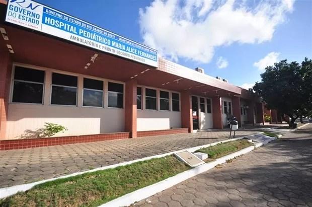 UTI do hospital Maria Alice Fernandes foi fechada nesta quarta-feira (27) (Foto: Tribuna do Norte)