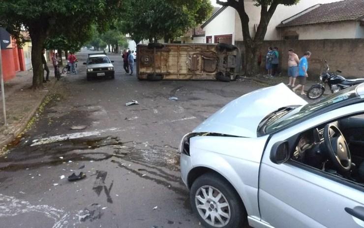 Seis crianças ficaram feridas no acidente (Foto: Angelo Cardoso/Arquivo Pessoal)