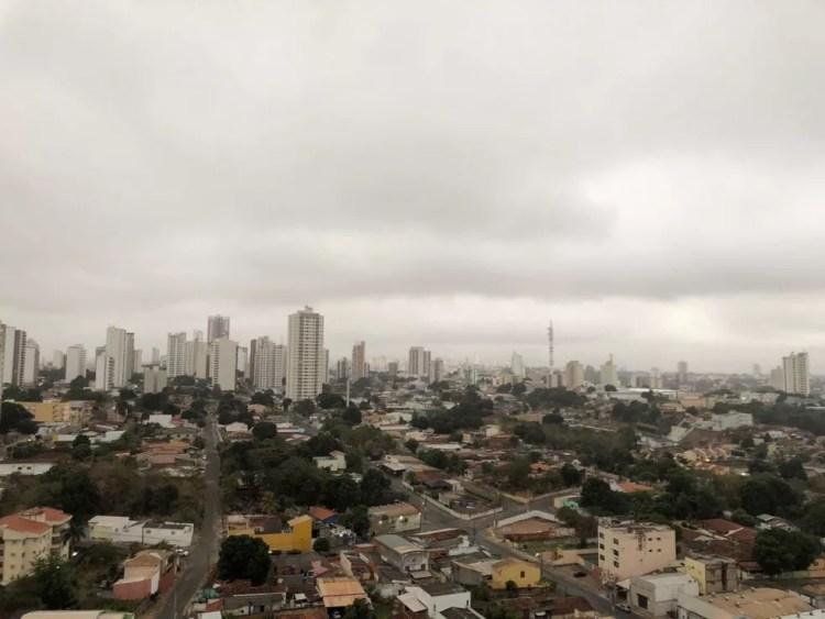 Frio em Cuiabá — Foto: Mauri Guimarães/ Arquivo pessoal