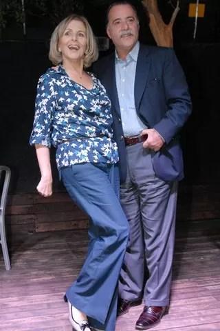 Tony Ramos e Irene Ravache interpretam Otávio e Charlô (Foto: Zé Paulo Cardeal/ TV Globo)