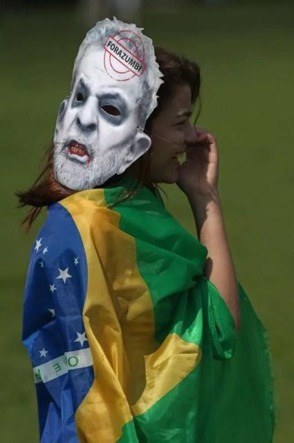 Povo nas ruas, Brasília (Foto: O Globo)