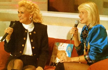 In an interview with Hebe, who received him with the costume used by the presenter Arquivo