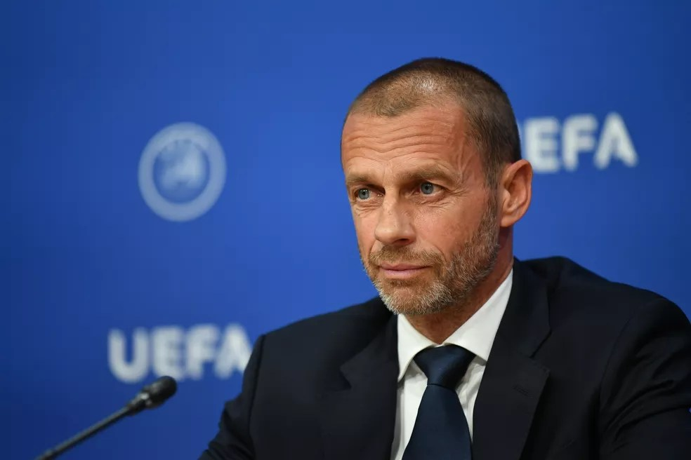 Aleksander Ceferin, presidente da Uefa — Foto: Getty Images