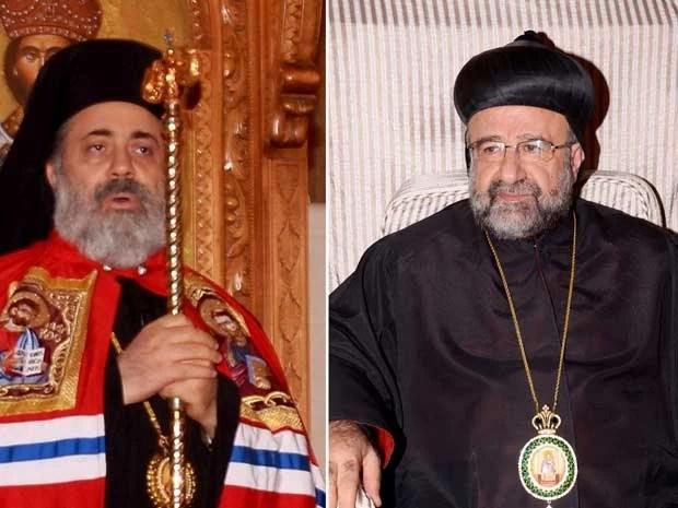 Bispos sequestrados foram libertados na Síria (Foto: AP)