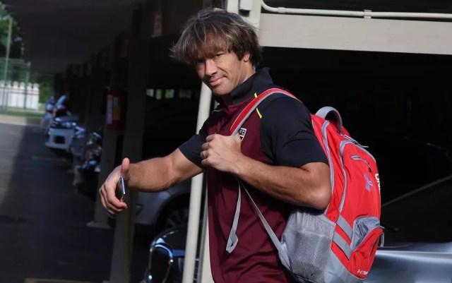 Lugano tem contrato com o São Paulo até o dia 30 de junho (Foto: Rubens Chiri / saopaulofc.net)