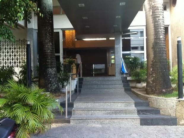 Hotel em que família Caggiano estava hospedada (Foto: Caroline Holder/G1)