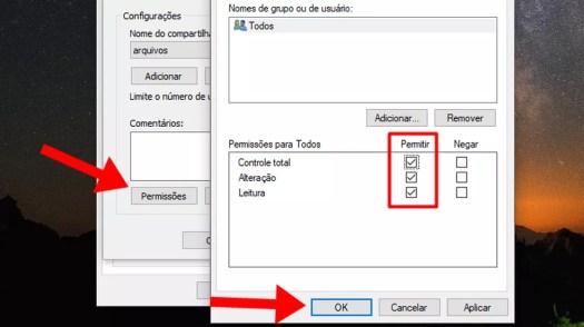 Conceda permissão para editar arquivos da pasta no Windows (Foto: Reprodução/Paulo Alves)