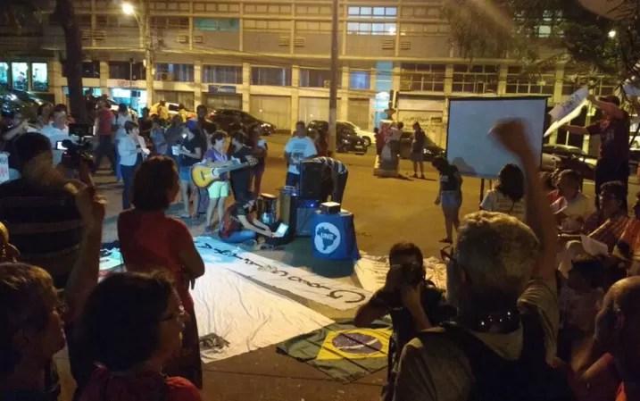 Cuiabá, MT, manifesto, Dilma