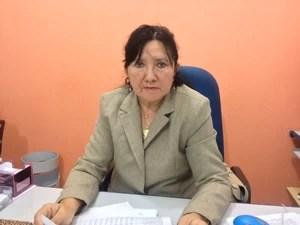Delegada da DCCM Elza Nogueira (Foto: Abinoan Santiago/G1)