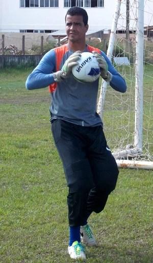 Raniere - goleiro Maranhão (Foto: Bruno Alves)