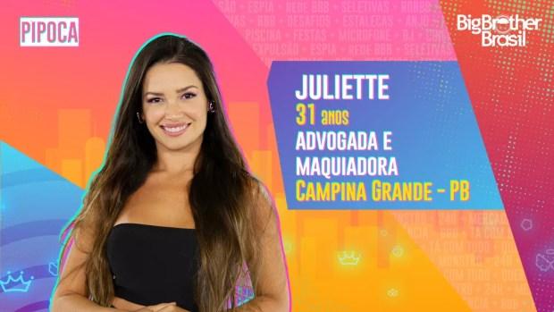 Juliette, BBB21 — Foto: Globo