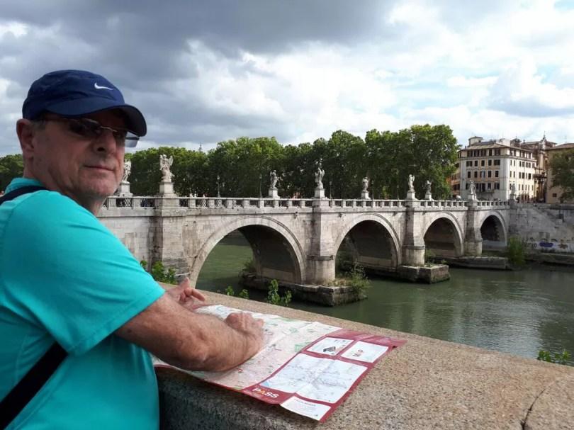 Donato Nicoliello durante viagem para Malta; ele e a família fizeram curso de inglês no pacote do intercâmbio (Foto: Donato Nicoliello/Arquivo pessoal)