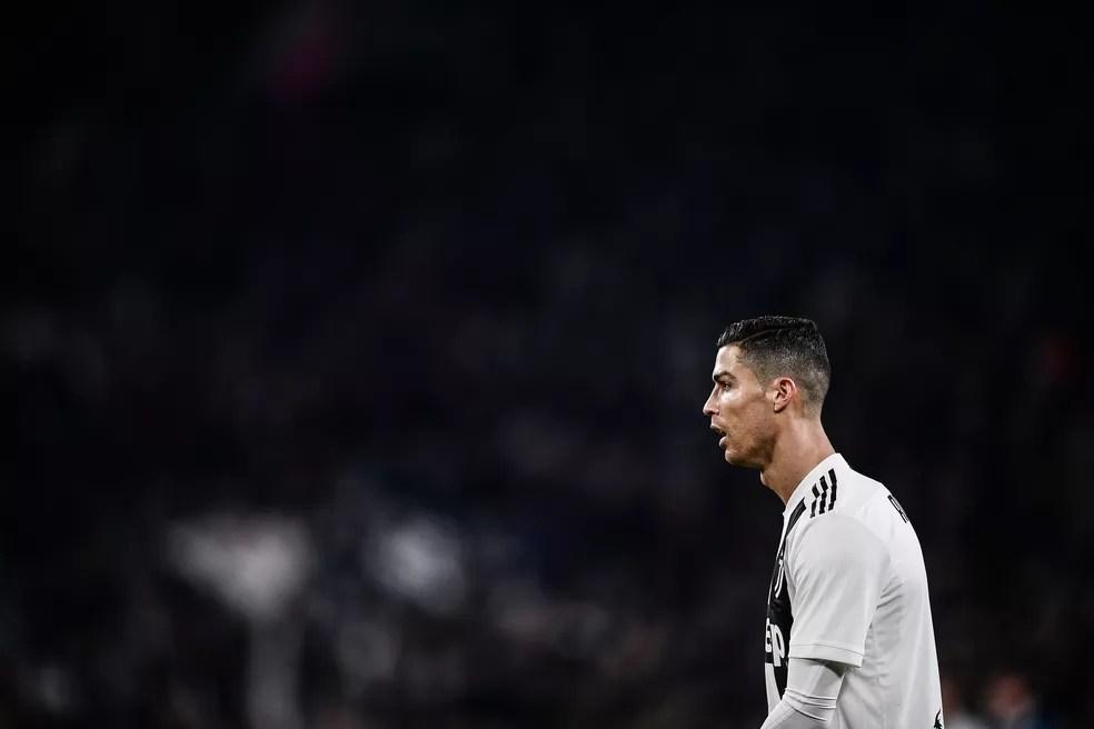 Cristiano Ronaldo é alvo de investigação nos Estados Unidos — Foto: Marco Bertorello/AFP