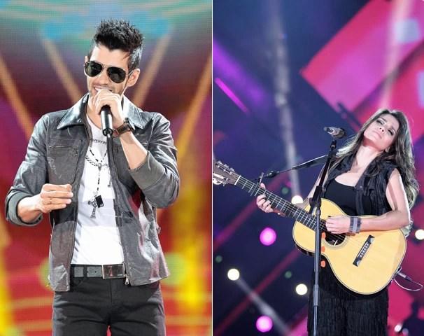 Gusttavo Lima e Paula Fernandes invadem a tela da sua TV no especial Sintonize (Foto: João Luiz/Globo)