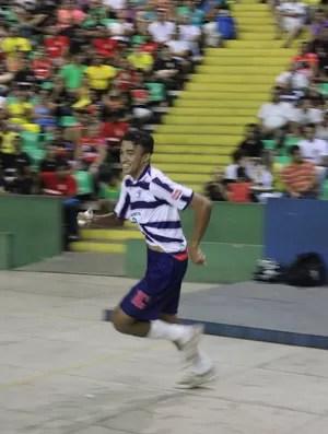 Wellden comemorando o gol (Foto: Wenner Tito/Globoesporte.com)