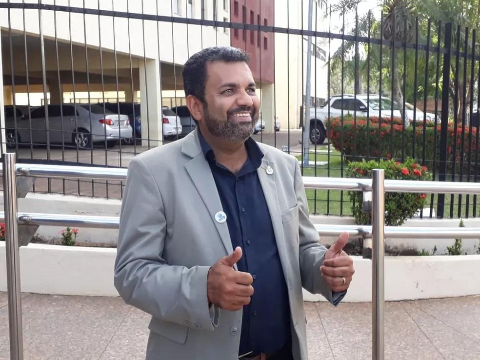 Candidato a governador, Valclei Queiroz é natural de Porto Velho. (Foto: Pedro Bentes/G1)