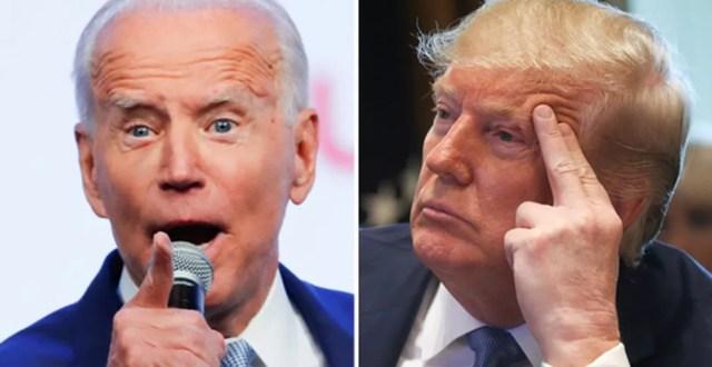 Joe Biden e Donald Trump devem disputar eleições em novembro — Foto: Mike Blake/Reuters e Leah Millis/Reuters