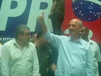 José Roberto Arruda (PR), que teve candidatura ao GDF barrada pelo Tribunal Regional Eleitoral (Foto: Raquel Morais/G1)