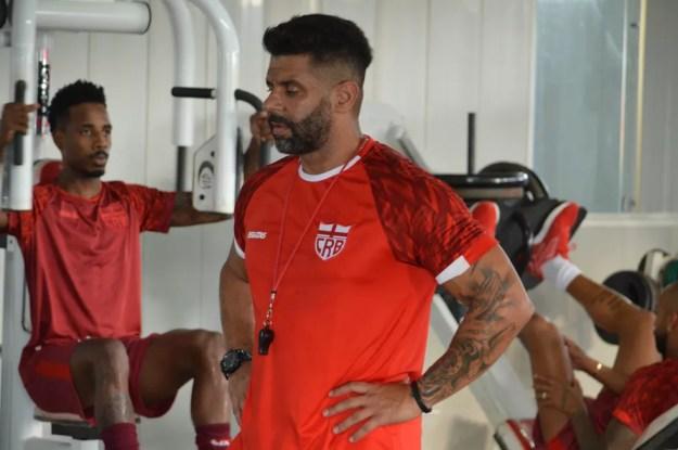 Rogério Judicce já se apresentou ao CRB — Foto: Maxwell Oliveira/Ascom CRB