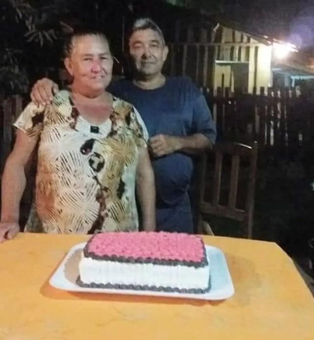 Maria Aparecida Paezano e Josias Paezano, ambos de 60 anos, morreram com Covid-19 em um intervalo de 24 horas em Mato Grosso — Foto: Facebook