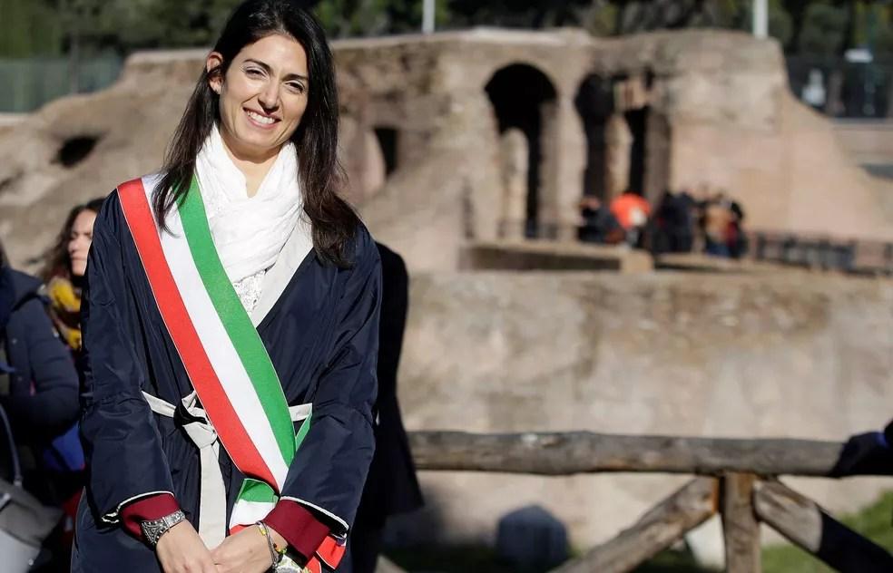 Rafaele Marra é considerado a 'mão direita' da prefeita de Roma, Virgínia Raggi,  (Foto: Max Rossi/Reuters)