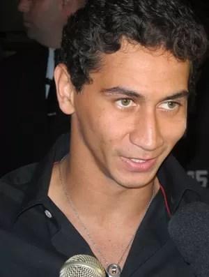 Ganso na festa de Davi Lucca (Foto: Bruno Gutierrez / Globoesporte.com)