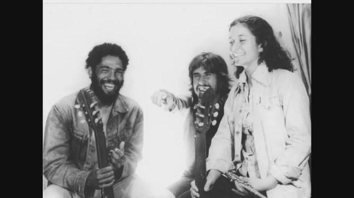 Além de parceiros musicais, Mongol e Oswaldo Montenegro eram amigos de infância — Foto: Reprodução/TV Globo