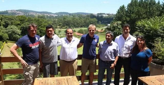 Klinsmann técnico estados Unidos EUA CT Cotia São Paulo (Foto: Rubens Chiri/saopaulofc.net)