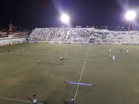 Ceará triunfa diante do Salgueiro na estreia (Foto: Ivo Ferraz/ TV Grande Rio)