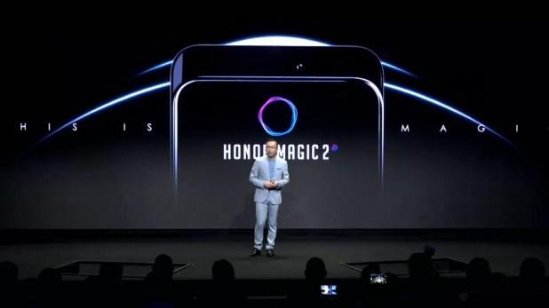 Honor Magic 2: smartphone da Huawei tem tela sem bordas (Foto: Reprodução/Internet)