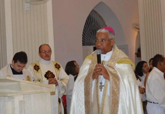 Dom Antônio Carlos Cruz Santos, bispo de Caicó, no RN (Foto: Divulgação/ Diocese de Caicó)