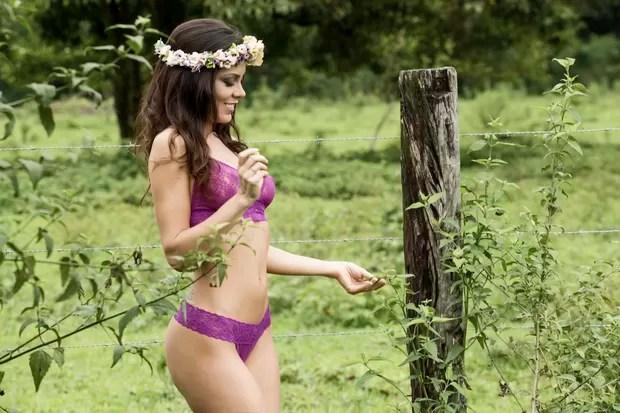 Bárbara Gomes, candidata ao concurso que vai eleger a mulher mais sexy do Brasil (Foto:  Marcos Mello / Divulgação )