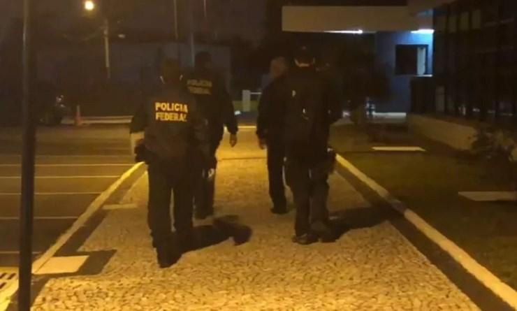 Operação Cravada cumpre 55 mandados de busca e apreensão e 30 mandados de prisão, em sete estados — Foto: Divulgação/PF