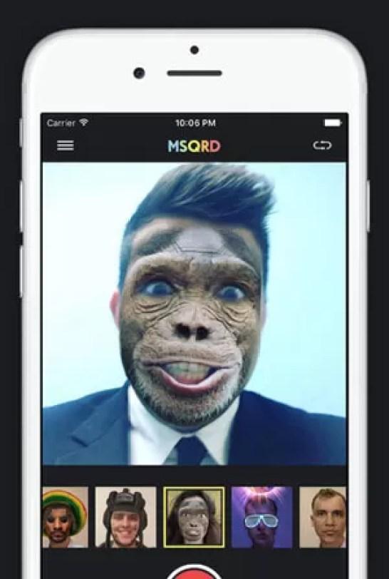 App Masquerade foi adquirido pelo Facebook (Foto: Divulgação/Facebook)