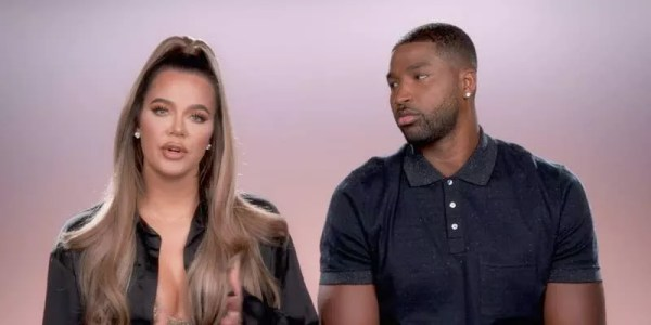 Khloé Kardashian and Tristan Thompson on the reality show Keeping Up with the Kardashians (Photo: reproduction)