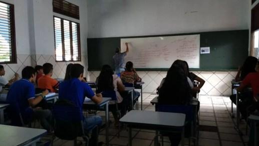 Sala de aula em Macapá (Foto: Arquivo/Fabiana Figueiredo/G1)
