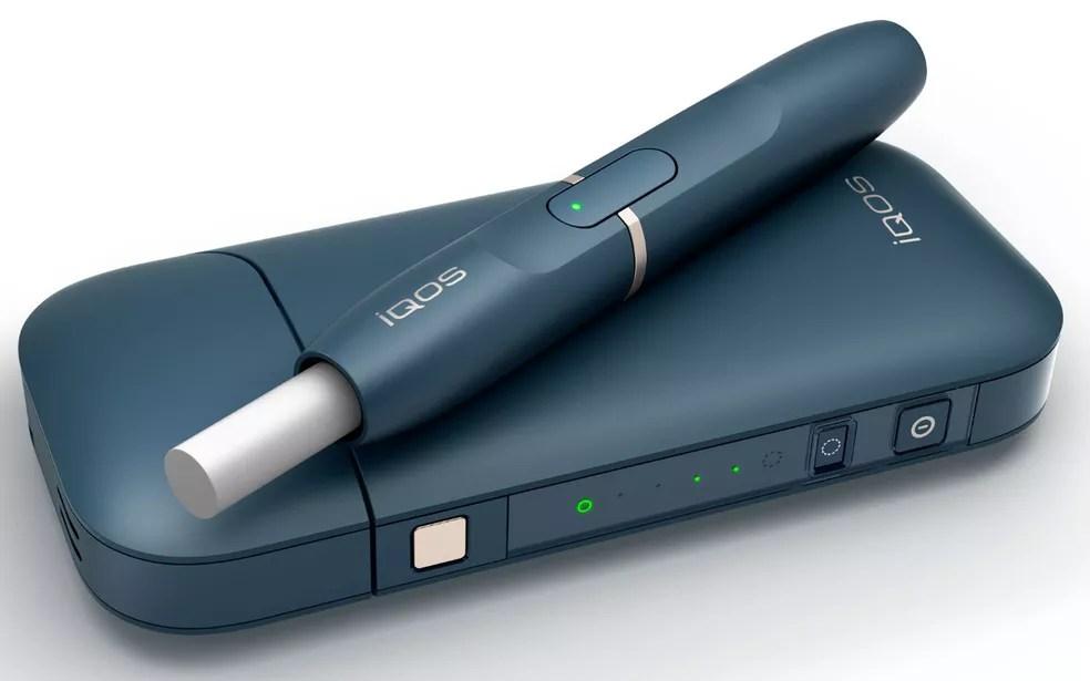 IQOS é o dispositivo eletrônico de tabaco aquecido desenvolvido pela Philip Morris (Foto: Philip Morris/Divulgação)