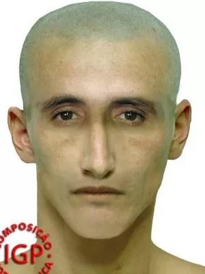 Polícia Civil divulgou retrato falado de suspeito de estupro (Foto: Polícia Civil/Divulgação)