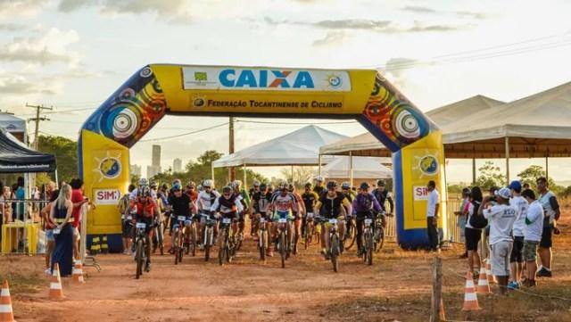 Mais de cem ciclistas disputam competição de MTB em Taquaruçu (Foto: Daniel/Divulgação )