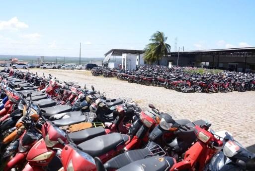 Em Natal, 220 lotes de veículos apreendidos pelo Detran vão a leilão (Foto: Detran/Divulgação)