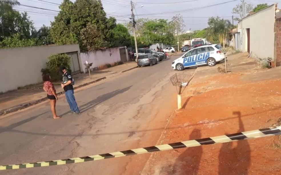 Crime aconteceu na casa da jovem, em Aparecida de Goiânia — Foto: Arquivo pessoal